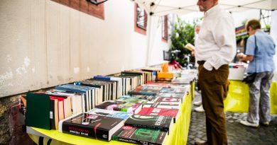 Bücherflohmarkt im Hummelpark