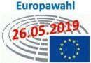 Europawahl am 26. Mai 2019 – Werden Sie Wahlhelfer!