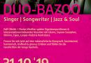 31.10. Duo Bazoo im La deutsche Vita