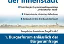 Hochheim wills wissen – Einladung zum Bürgerforum
