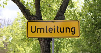 Mi 23.10.19: Bauarbeiten in der Mainzer Straße in Hochheim