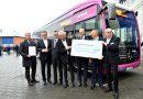 Stinker ade – die ersten drei abgasfreien Busse in Wiesbaden