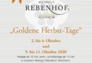 Baison & Weilbächer am HoWPS und Rebenhof mit Goldenen Herbsttagen
