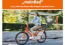 """Neuer Tarif beim Fahrradvermietsystem """"meinRad"""""""