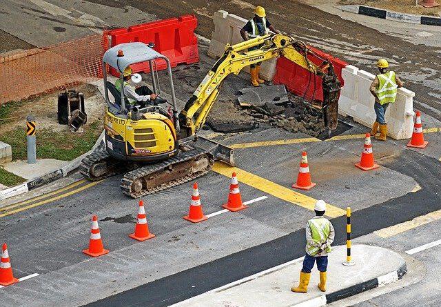 Bauarbeiten in der Rheinallee erst nächste Woche