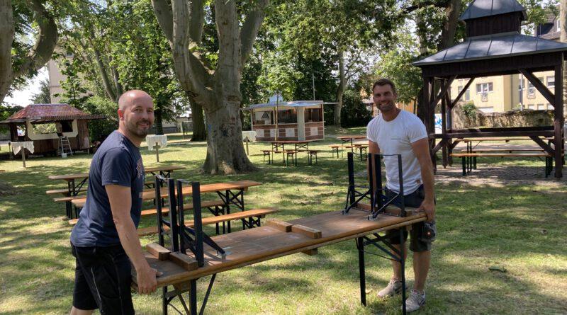…we walk in the park! 1. Hochheimer Parkfest am Wochenende 18. – 20. Juni