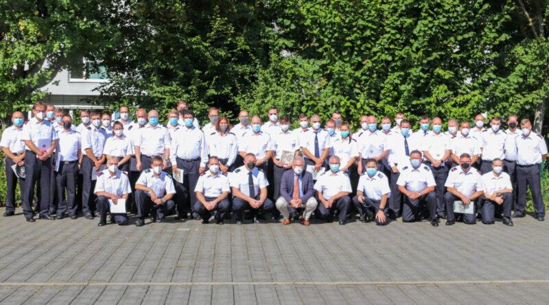 Ehrungen und Beförderungen bei den Flörsheimer Feuerwehren