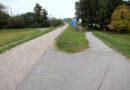 Gefährliche Kurve des Mainuferradwegs wird entschärft